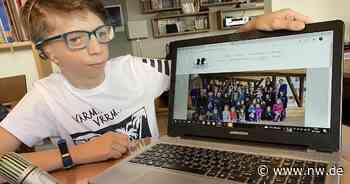 13-Jähriger aus Harsewinkel lebt selbstbewusst mit Franceschetti-Syndrom - Neue Westfälische