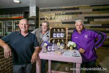 FC Heikant heeft met Purp're H eigen fles gin - Het Nieuwsblad