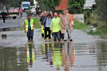 Minister Annelies Verlinden verovert hart van de door watersnood getroffen inwoners