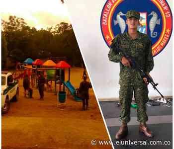 Infante de marina es asesinado por su compañero en San Juan Nepomuceno - El Universal - Colombia