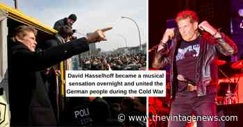 David Hasselhoff's Unlikely Connection To The Fall Of The Berlin Wall - The Vintage News