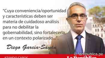 Asamblea Constituyente: ser o no ser, por Diego García-Sayán - LaRepública.pe