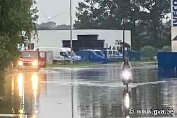 Wateroverlast teistert ook Mol en Balen - Gazet van Antwerpen Mobile - Gazet van Antwerpen