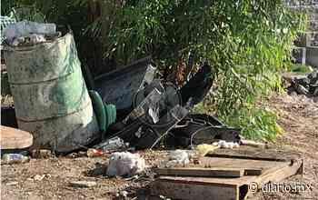Dejan tirado escombro tras obras en Pradera Dorada - El Diario