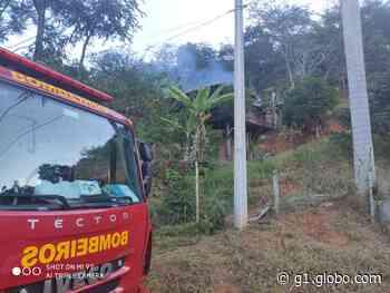 Incêndios atingem residências em Ipaba e Coronel Fabriciano - G1