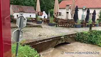"""Grimbergen zwaar getroffen door regenval: """"Met zulke weersvo... - Het Nieuwsblad"""