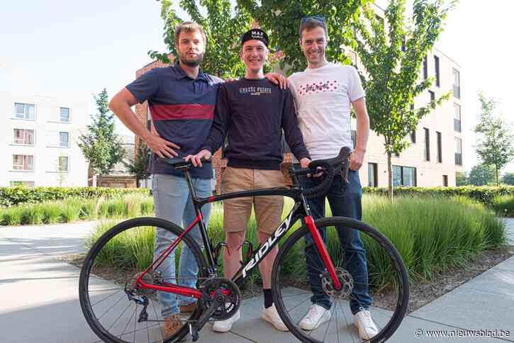"""Stef (29), Vincent (29) en Pierre-Yves (27) organiseren fietstochten voor Bourgondiërs: """"Genieten van inspanning en ontspanning"""""""