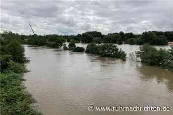 Was am Samstag in Schwerte wichtig ist: Luftaufnahmen vom Hochwasser - Ruhr Nachrichten