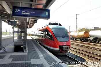 Unwetter: Auf diesen Strecken fällt der Zugverkehr ab Schwerte aus - Ruhr Nachrichten