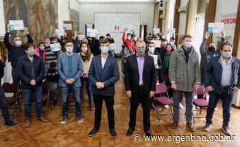 Ferraresi y Ghi otorgaron créditos para construcción y viviendas en Morón - Argentina.gob.ar Presidencia de la Nación