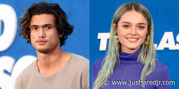 Charles Melton & Charlotte Lawrence Attend 'Ted Lasso' Season 2 Premiere - Just Jared Jr.