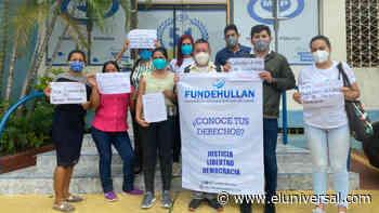 Protestan en la Fiscalía de Barinas por la liberación de Javier Tarazona - El Universal (Venezuela)