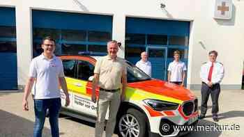 25 Jahre BRK Poing: neuer Leiter, neues Auto - Merkur Online