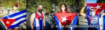 La comunidad cubana de Valladolid grita «¡Patria y vida!» - El Día de Valladolid
