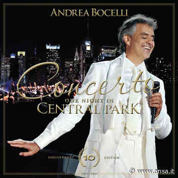 """Bocelli, """"Concerto: one night in Central Park"""" per i 10 anni - Ultima Ora - Agenzia ANSA"""
