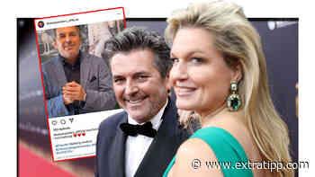 Thomas Anders macht seiner Claudia eine süße Liebeserklärung, aber markiert die falsche Frau - extratipp.com