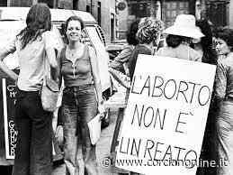 Legge 194/78, anche a Corciano il M5S aderisce alla campagna della Rete Umbra per l'Autodeterminazione - CORCIANONLINE.it