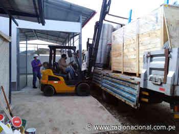 Planta de oxígeno importada por Legado llegó a Oxapampa - Radio Nacional del Perú