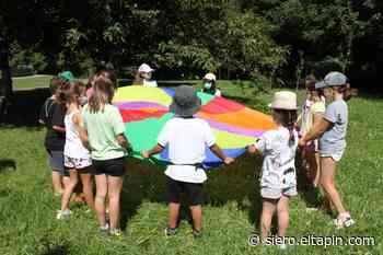 Los más pequeños disfrutan de la Peque-Romería de El Carmín - El tapin de Siero