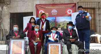 Arequipa: Reconocen a pobladores longevos del distrito de Lluta - Diario Correo