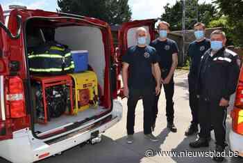 Nog meer hulp van brandweerzone Vlaamse Ardennen