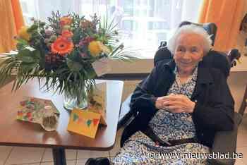 Oudste inwoner van Duffel wordt 107