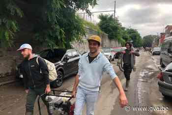 """Duffelaars met waterpompen en spullen naar zwaar getroffen Angleur: """"Pompen draaien op volle toeren"""" - Gazet van Antwerpen"""