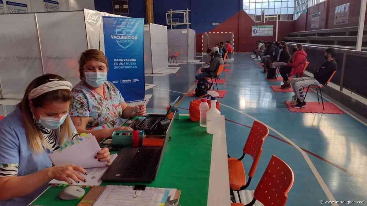 San Patricio del Chañar vacunó al 61 por ciento de su población - LM Neuquén