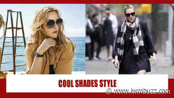 Searching For Some Amazing Cool Shades? Take Cues From Kate Winslet - IWMBuzz