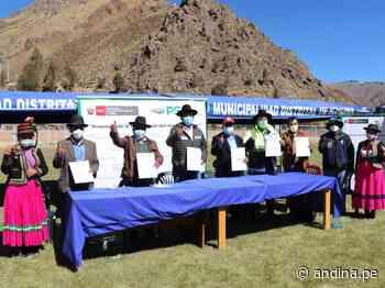 Moquegua: inician estudios de expediente técnico del proyecto hídrico Yanapujio - Agencia Andina