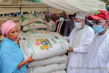 Gombe Gov Yahaya launches 2021 fertiliser sale – Blueprint Newspapers Limited - Blueprint newspapers Limited