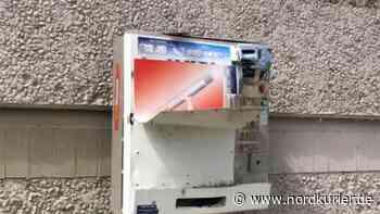 Polizei in Neubrandenburg: Unbekannte knacken Zigarettenautomat im Kulturpark   Nordkurier.de - Nordkurier