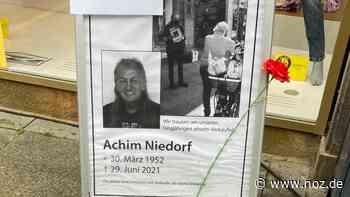 """Ein Gesicht der Großen Straße: Osnabrücker """"Abseits""""-Verkäufer Achim Niedorf gestorben - NOZ"""