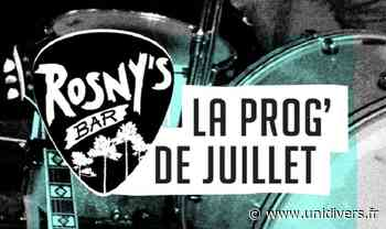 Concert Rosny's Bar Capbreton mardi 20 juillet 2021 - Unidivers