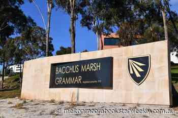 Bacchus Marsh Grammar coronavirus cluster spreads to four teachers   Melton & Moorabool - Star Weekly