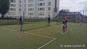 Une initiation au tennis au quartier de la Résidence à Chauny - L'Union