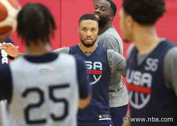 Lillard Addresses Trade Rumors, His Future In Portland After Practice With USA Basketball