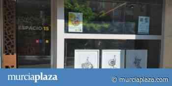"""Los comercios del barrio de Santa de Eulalia se convierten en una """"galería de arte"""" - Murcia Plaza"""