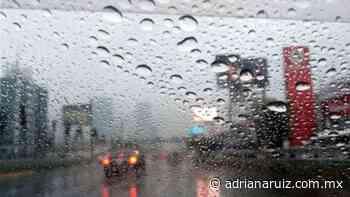 #Juarez   Emiten Alerta Amarilla por lluvias en la ciudad - Adriana Ruiz
