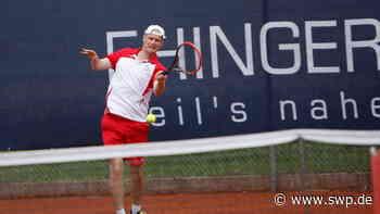 Tennis: TC Ehingen: Vorentscheidendes Duell um den Klassenerhalt - SWP