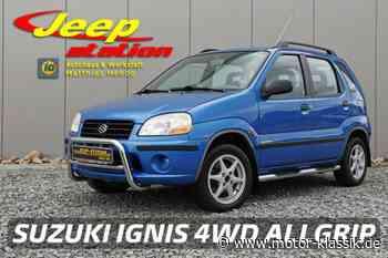 SUZUKI Ignis 4WD Allrad + Klimaanlage 07/2001 für 2500€ zu verkaufen - Motor Klassik