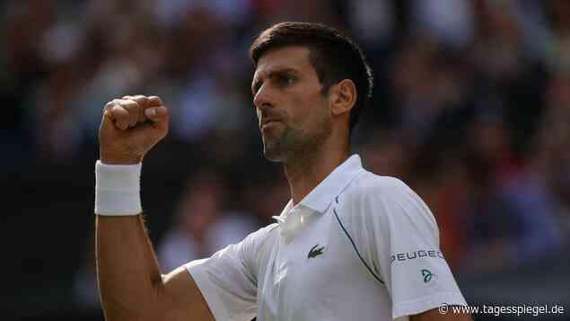 Tennis-Star ist bei Olympia dabei: Warum Novak Djokovic in Tokio antreten muss - Tagesspiegel