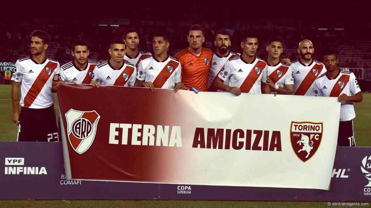 «Eterna Amicizia»: Torino de Italia presentó su nueva camiseta suplente inspirada en River - El Intransigente
