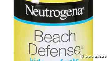 Neutrogena spray-on sunscreens recalled after 'elevated' levels of benzene detected