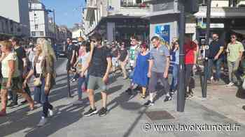 Au moins 200 personnes réunies à Boulogne-sur-Mer pour manifester contre le pass sanitaire - La Voix du Nord