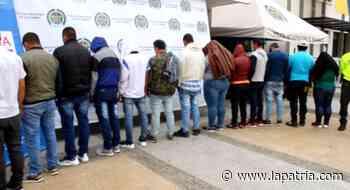 Condenaron a 11 integrantes de banda de drogas en Manizales y Neira - La Patria.com