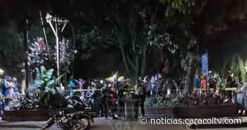 Pánico en el parque de Sabaneta por balacera tras un hurto - Noticias Caracol