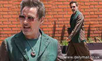 Robert Downey Jr. steps out in first public sighting since death of filmmaker father - Daily Mail