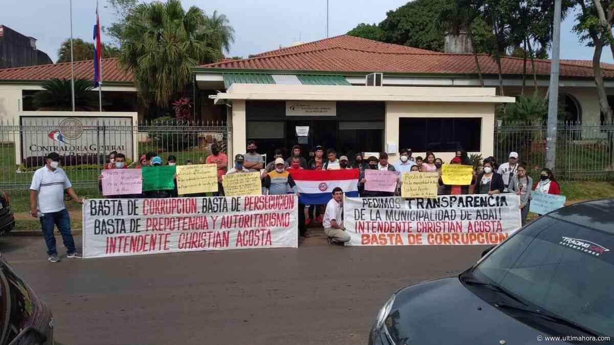 Pobladores de Abaí exigen que Contraloría audite presuntas obras fantasmas - ÚltimaHora.com