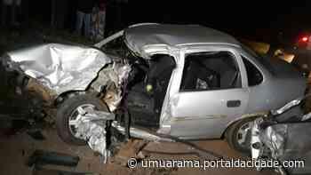PR-323 Homem morre em colisão envolvendo carro e caminhão em Cruzeiro do Oeste 07/07 - ® Portal da Cidade | Umuarama